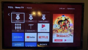 """TCL 55"""" Smart TV for Sale in Durham, NC"""