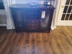 Beautiful Cherry Wood TV Stand for Sale in UPPR MARLBORO, MD