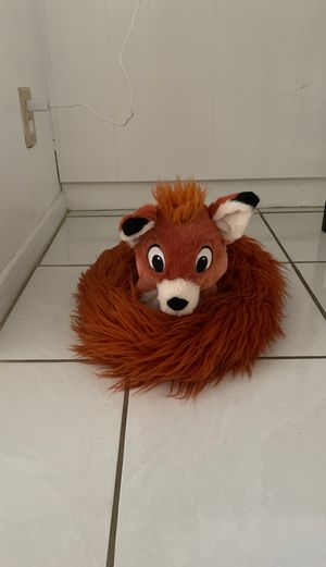 Fox plushy with long tail for Sale in Hesperia, CA