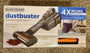 BLACK+DECKER dustbuster Advanced Clean+ Lithium Cordless Handheld Vac for Sale in Portland, OR