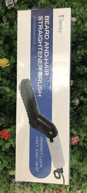 Ulensy Beard Straightener, Beard Straightener and Hair Straightener, Best Heat Beard Straightener and Hair Straightener Brush for Sale in Plano, TX