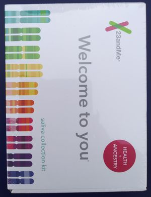 23andMe Health + Ancestry Saliva Collection Kit Brand New for Sale in Los Angeles, CA