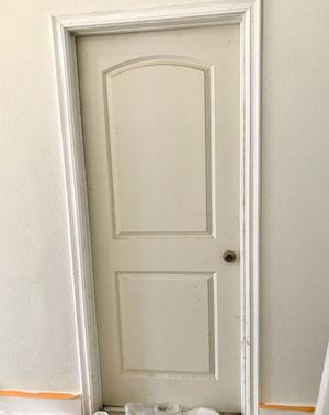 """Bedroom door 32"""" x 80"""". Primed. Like new. for Sale in Laguna Hills, CA"""