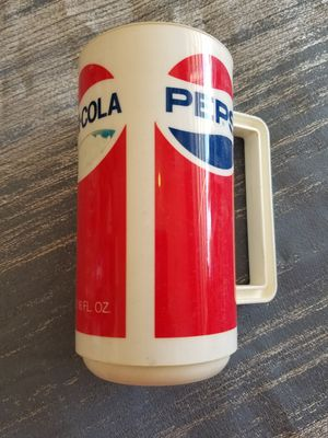 Pepsi Cola vintage big plastic glass Collectible for Sale in Las Vegas, NV