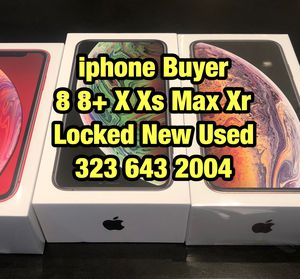iPhone 11 pro Max x xs 64gb xr for Sale in Los Angeles, CA