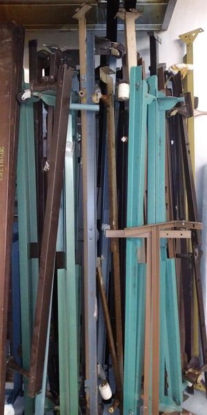 Metal bed frames for sale at St Louis Consignment Gallery for Sale in BRECKNRDG HLS, MO
