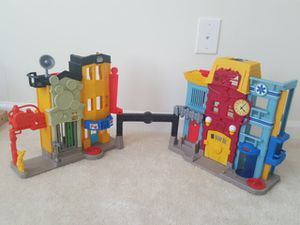 Prison and a fire station toy for Sale in Aldie, VA