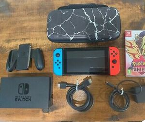 Nintendo Switch Console 32GB With Joy-Cons, Box, Dock, & Accessories for Sale in Boston, MA