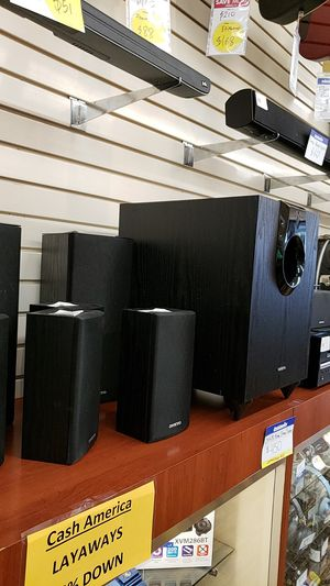 Onkyo 9 Piece home Stereo system for Sale in Chicago, IL