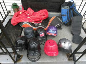 BASEBALL HELMETS AND BAGS *READ DETAILS for Sale in St. Louis, MO