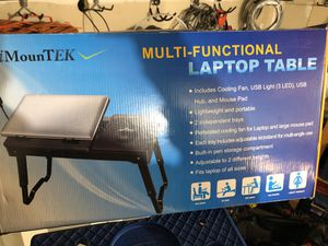 MULTIFUNCIONAL LAPTOP TABLE for Sale in Severn, MD