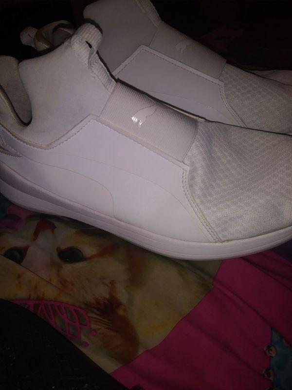 All white puma