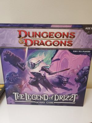 Dungeons & Dragon: The Legend of Drizzt Board Game for Sale in Albany, CA