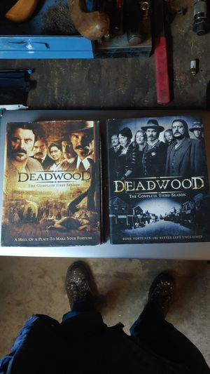 Deadwood complete first and third season for Sale in Fresno, CA