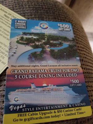 2 night cruise for Sale in Bartow, FL