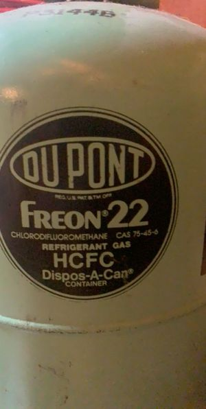 DuPont R22 Freon 30lb for Sale in Mokena, IL