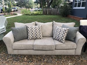 Couch with full warranty for Sale in Orlando, FL