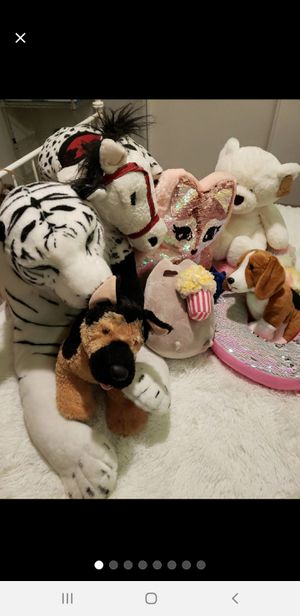 Plush toys for Sale in Bensenville, IL