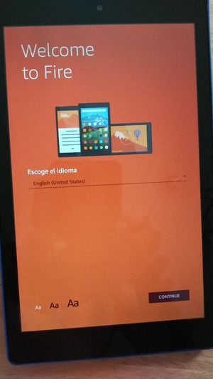 """Amazon Fire HD Display Tablet 8"""" (7th Generation) 16GB Blue for Sale in Miami, FL"""