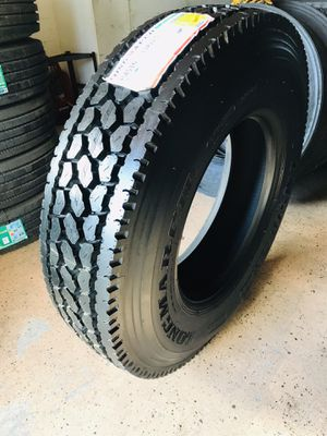 commercial truck and trailer tires -llantas para CAMION y traila !!! for Sale in Riverside, CA