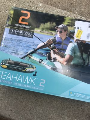 Intex Seahawk Inflatable Boat Series 2 for Sale in Darien, IL