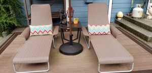 Two Patio Lounge Chairs for Sale in Bothell, WA