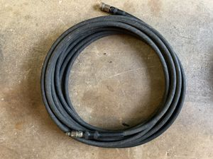 "50' pressure washer hose 3/8"" quick connectors for Sale in Lilburn, GA"