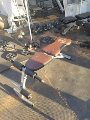 CAP WEIGHT BENCH for Sale in Riverside, CA