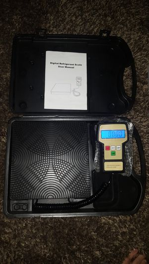 Freon-refrigerant scale for Sale in Jackson, MI