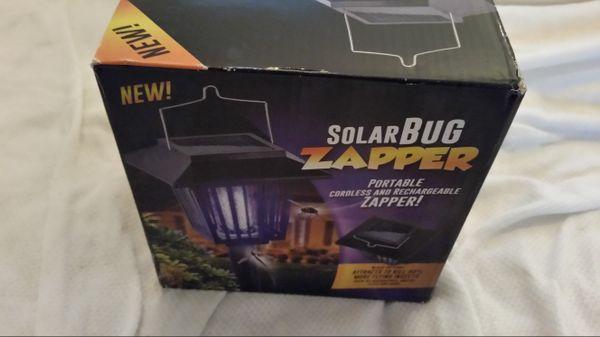 Solar Bug Zapper