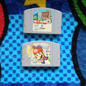 Mario Party & South Park for Sale in Pasadena, TX