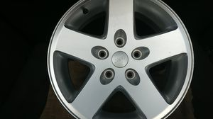 Jeep allow wheels 17 inch 5 lug for Sale in Tampa, FL