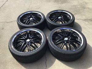 22 inch Verde rims & tires / 5x120 for Sale in Orlando, FL