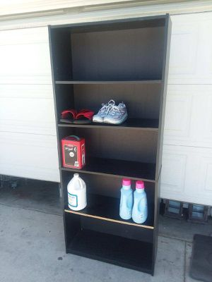 Wood shelves stand used for Sale in Fontana, CA