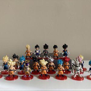 Dragon Ball Z Figures 21pcs for Sale in Herndon, VA
