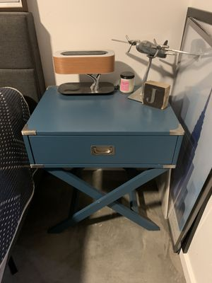 Blue bedside tables (Set of 2) for Sale in San Diego, CA
