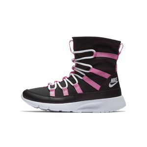 Nike Venture GS Black Pink Youth 6.5 (Women's 8) Faux Fur Lining Shoes — High Top. New Without Box for Sale in Philadelphia, PA