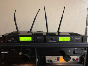 Carvin Ux1000 wireless guitar system for Sale in Mount Vernon, WA