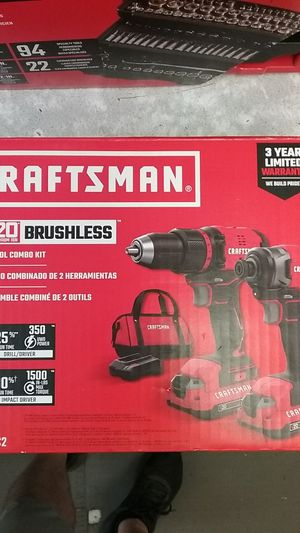 Craftsman 20volt 2 tool combo kit for Sale in Tampa, FL