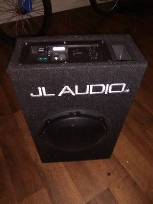 "JL Audio 8"" inch sub subwoofer built in amplifier car self powered amp for Sale in San Bernardino, CA"