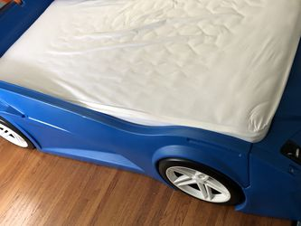 Hot Wheels Car Bed (twin) for Sale in Los Angeles,  CA