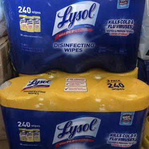 """Lysol """"3PACK"""" for Sale in Huntington Park, CA"""