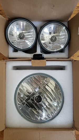 Harley Davidson headlamp & pass lights for Sale in Kennesaw, GA