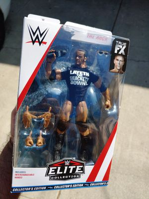 WWE Elite The Rock for Sale in Los Angeles, CA