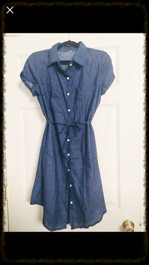 Cute Denim Dress size Large Brand New for Sale in Memphis 3f4bcbf5d68a2