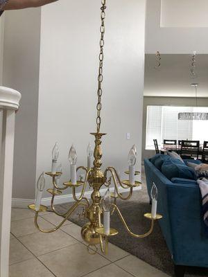Golden Chandelier for Sale in Corona, CA