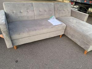 DHP Hartford storage futon / sectional for Sale in Phoenix, AZ
