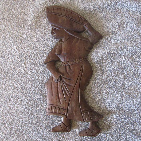 Peruvian Wood Carved Wall Art