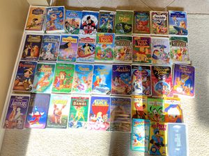 Disney classic vhs movies for Sale in Katy, TX
