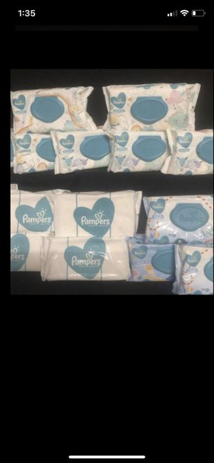 Pampers baby wipes 3/$5 for Sale in Fontana, CA